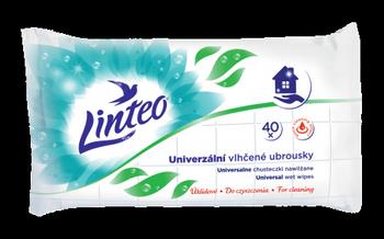 Chusteczki nawilżane Linteo do czyszczenia Uniwersalne – 40 szt.